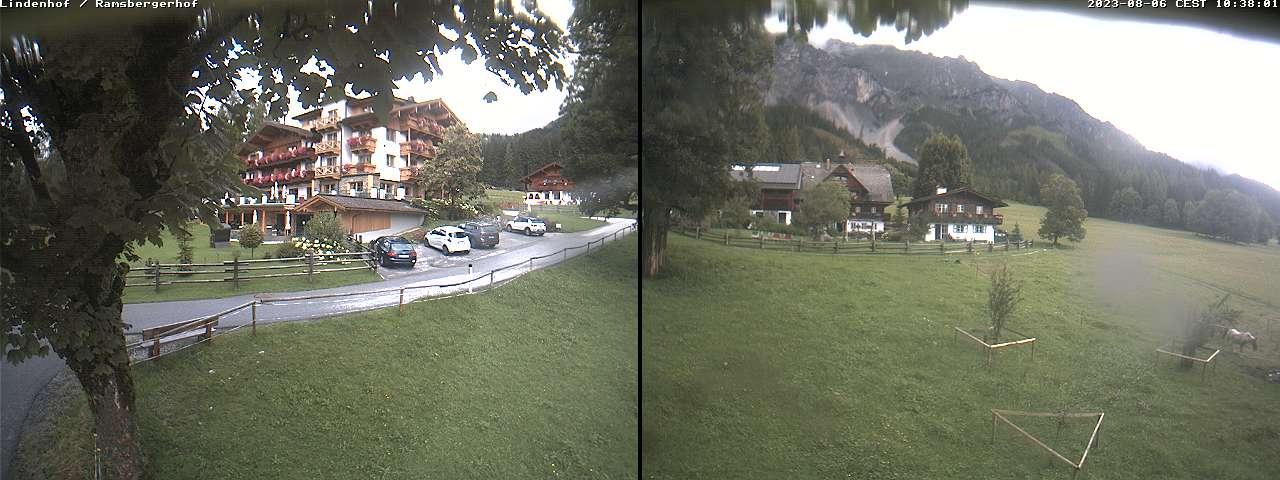 Live Webcams Ramsau am Dachstein mit Hotel Lindenhof und Ramsbergerhof